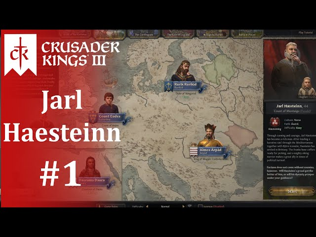 I Just Can't Wait to Be King, Part 1 -- Crusader Kings III