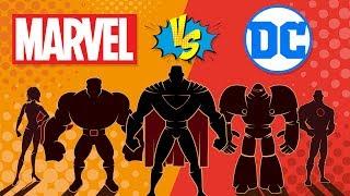 Daha Başarılı Olan Marvel VS DC -? Çizgi Roman Şirketi Karşılaştırma