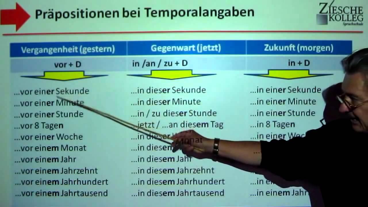 a1 a2 grammatik kap 03 pr positionen bei temporalangaben