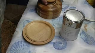 Подарок от  MAZ-SLO или деревянная посуда на токарном станке