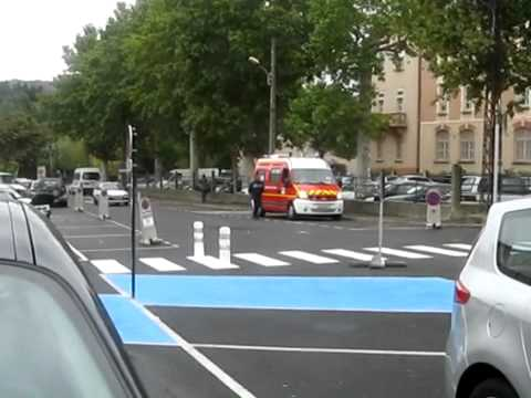 Accident simulation (car crashes a bike) - YouTube