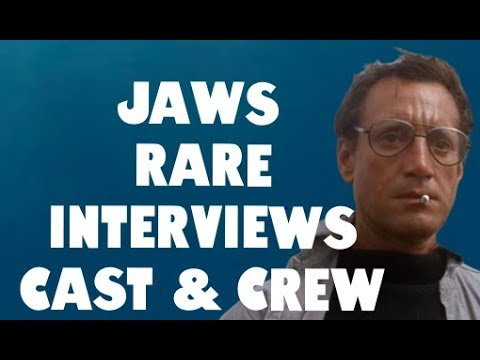 JAWS Rare Interviews With Cast & Crew