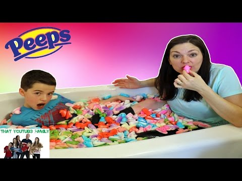 Peeps Bath Challenge  / That YouTub3 Family