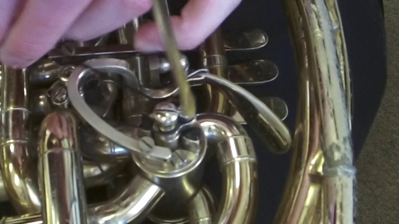 maxresdefault tutorial video how to restring thumb valve on a horn youtube