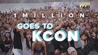 Video 1MILLION / Goes to KCON16 download MP3, 3GP, MP4, WEBM, AVI, FLV Desember 2017