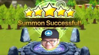 Luck from Korea in ToA Summon | Summoners War
