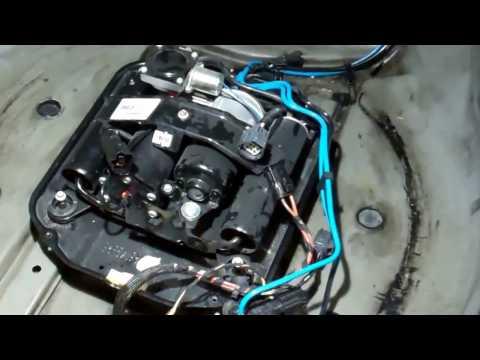 How to change air suspension compressor on Range Rover L322 2006-13 Hitachi
