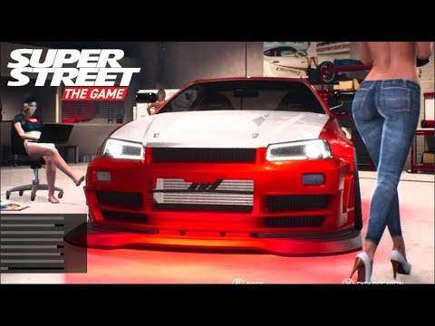 SuperStreet The Game - 100% Game Save - FULL Customization Build | SLAPTrain