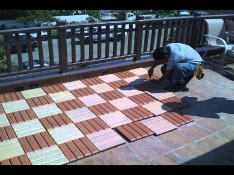 cheapest way to build patio floor Norway - YouTube