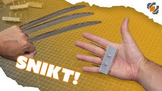 Wolverine's Prop Claws - Cosplay Tutorial Part 1 of 2 - Hand Grips