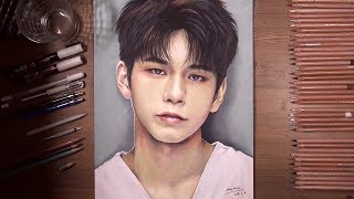 Drawing - Wanna One: 옹성우(Ong Seong Wu) | drawholic