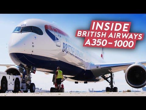 First Look of British Airways A350-1000