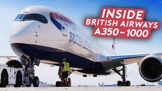 First Look of British Airways A350-1000