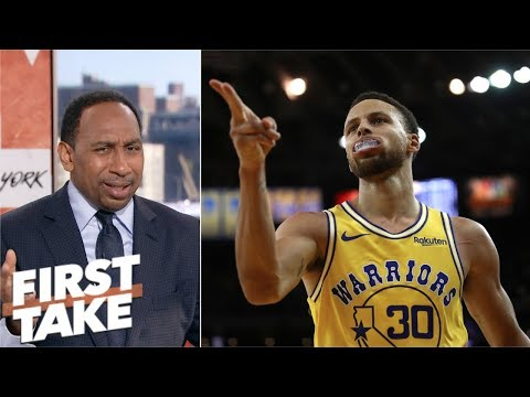 Steph Curry's 2019 MVP chances are 'slim' – Stephen A. Smith | First Take