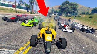 ROBBING SPREE W/ F1 CARS! *INSANE!*   GTA 5 THUG LIFE #310