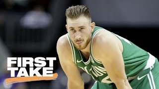First Take reacts to Gordon Hayward's injury during Celtics vs. Cavaliers | First Take | ESPN