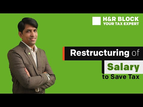 Restructuring of salary to save on taxes