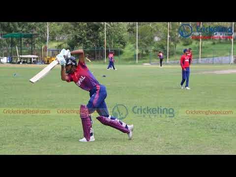 Bishal Bikram KC Make Into U19 Team Classic Batting