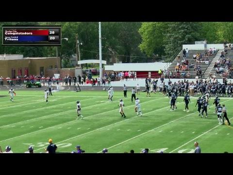 Football: Iowa Central vs Dodge City (9/2/2017)