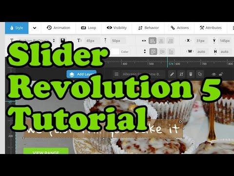 Slider Revolution 5 for WordPress - How To create and edit slides