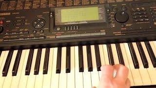 Мелкий ремонт синтезатора yamaha PSR 620. Не фурычат несколько клавиш.
