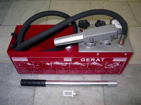 Опрессовщик ручной Gerat ТР-60 (насос для опрессовки)