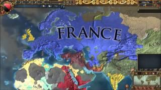 Europa Universalis 4 Timelapse : Always war mod [1444-1821]