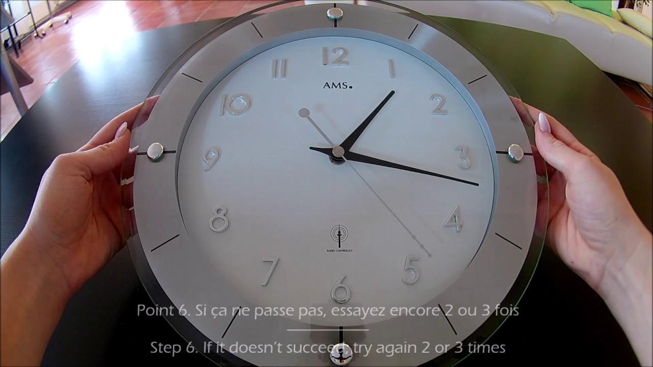 3d8aa70b70d 6 Schritte Anleitung Funkuhr Uhrzeit Richtig Einstellen Reset Funktion