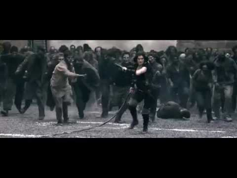 Resident Evil Afterlife RoofTop Scene [HD]