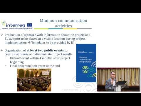 Preparing an application - Communication
