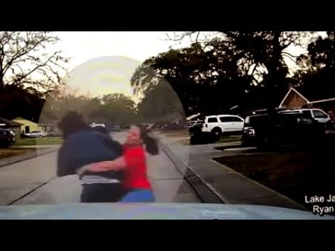 Texas mom tackles man suspected of peeping in her daughter's window | ABC7