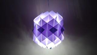 Paper Crafts (Diwali Decoration Ideas): Simple Paper Lantern: Christmas Decor
