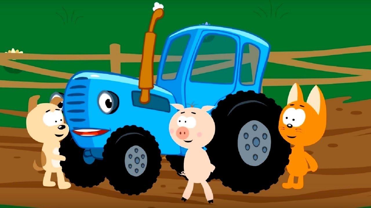 Мультфильм про машинки – Котенок и волшебный гараж – По уши в грязи - Для самых маленьких