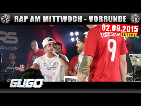 RAP AM MITTWOCH BERLIN: 02.09.15 BattleMania Vorrunde Feat. GUGO (2/4) GERMAN BATTLE