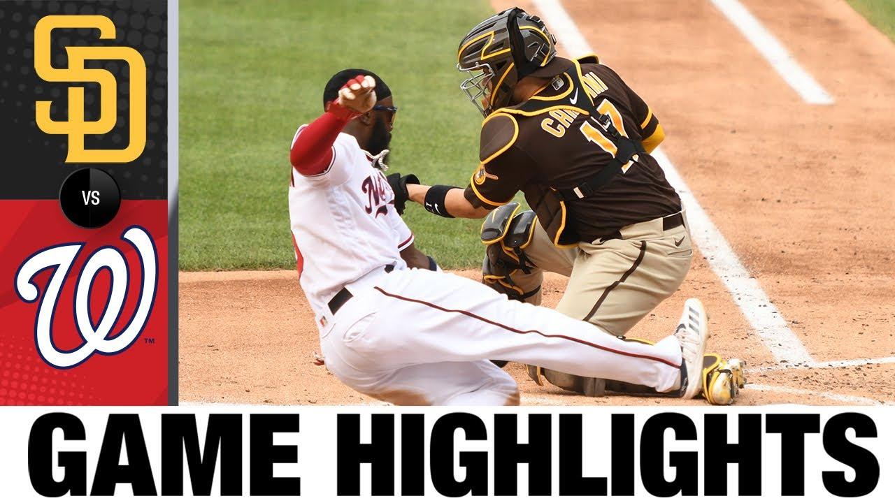 Download Padres vs. Nationals Game 2 Highlights (7/18/21) | MLB Highlights