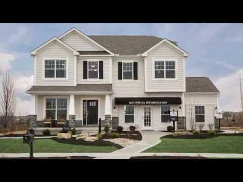 Arbor Park Aerial Tour | New Homes In Liberty Township, OH