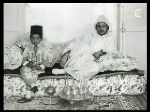 Dans l'intimité du sultan Mohammed V