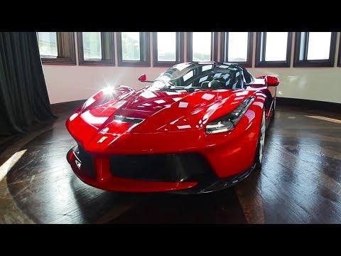 LaFerrari Aperta in the most INSANE garage in the world!