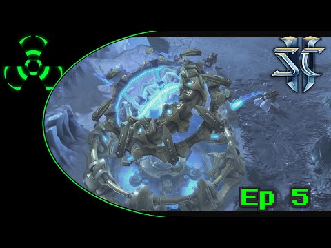 Starcraft II: Zerg Campaign: Episode 5 Shoot the Messenger [60 FPS HD 1080p Gameplay]