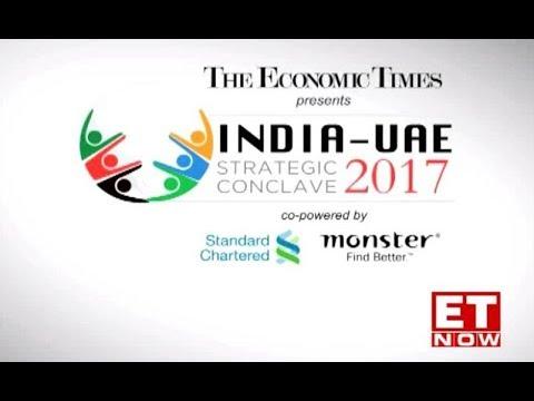 The Economic Times India-UAE Strategic Conclave, Dubai on ET NOW