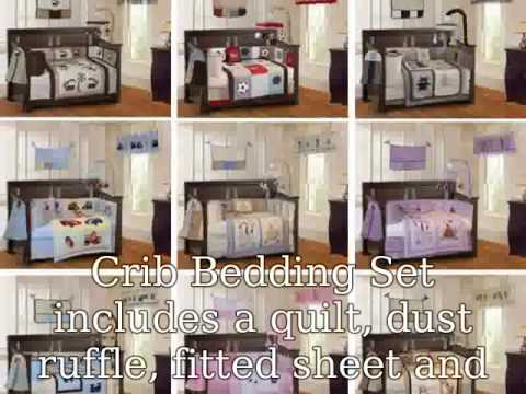 Cheap Crib Bedding Sets - YouTube