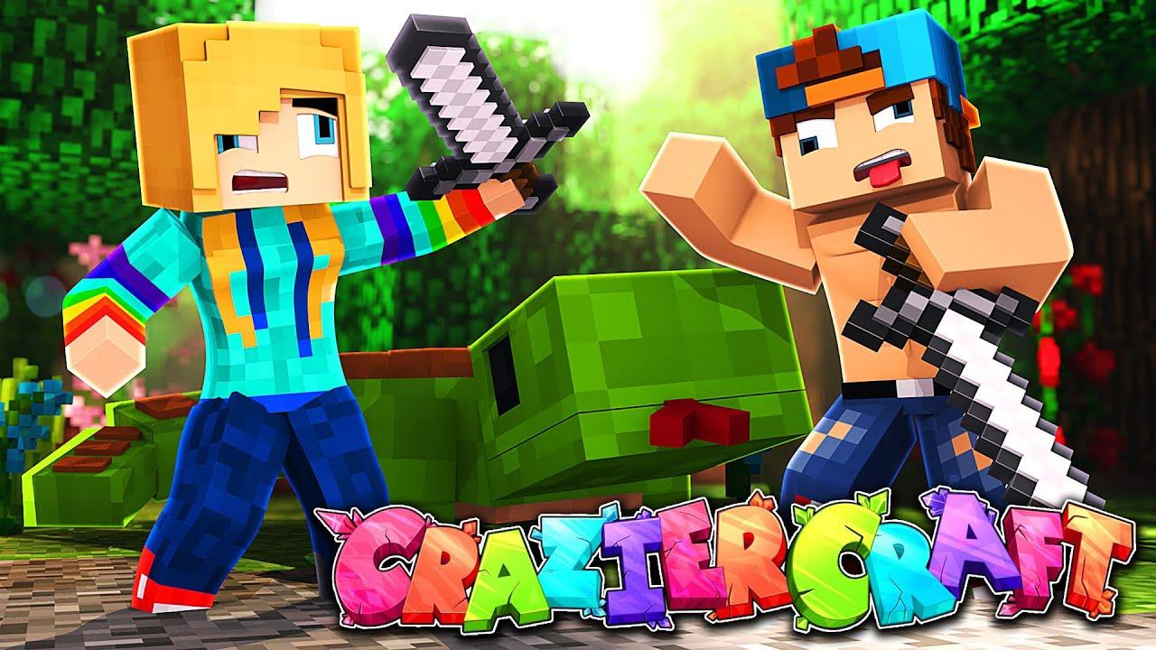 Download HOW CRAZY CAN WE GET?   CrazierCraft Ep 1