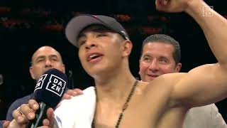 Jaime Munguia Reacts To Win, Calls Out Gabriel Rosado Post-Fight