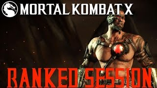 Mortal Kombat X | Ranked Session #46 | NO CHARGE!