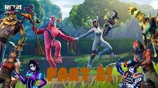 "ALL ""COUPLE SKINS"" IN FORTNITE BATTLE ROYALE #2"