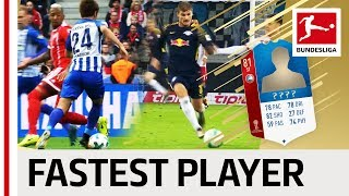 Top 10 Fastest Players World Cup 2018 - EA SPORTS FIFA 18 - Reus, Werner & More