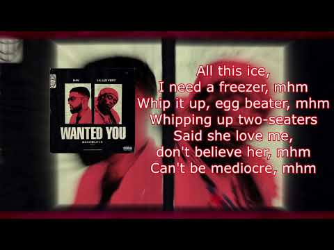 NAV- Wanted you (Lyrics) ft. lil uzi vert