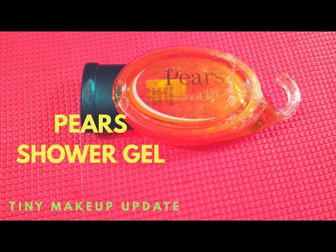 Pears Pure & Gentle Shower Gel With Pure Glycerin I Honest Review l Tiny Makeup Update