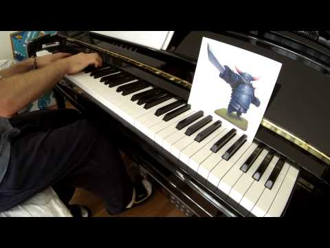 'Clash of Clans' War Theme for Piano
