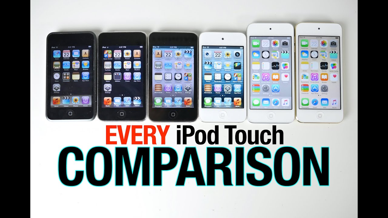 Iphone 3gs Vs Ipod Touch 4g